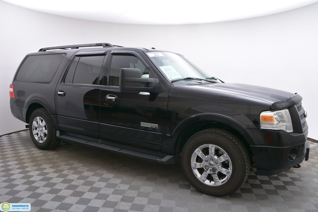 Pre-Owned 2008 Ford Expedition EL 4WD 4dr XLT