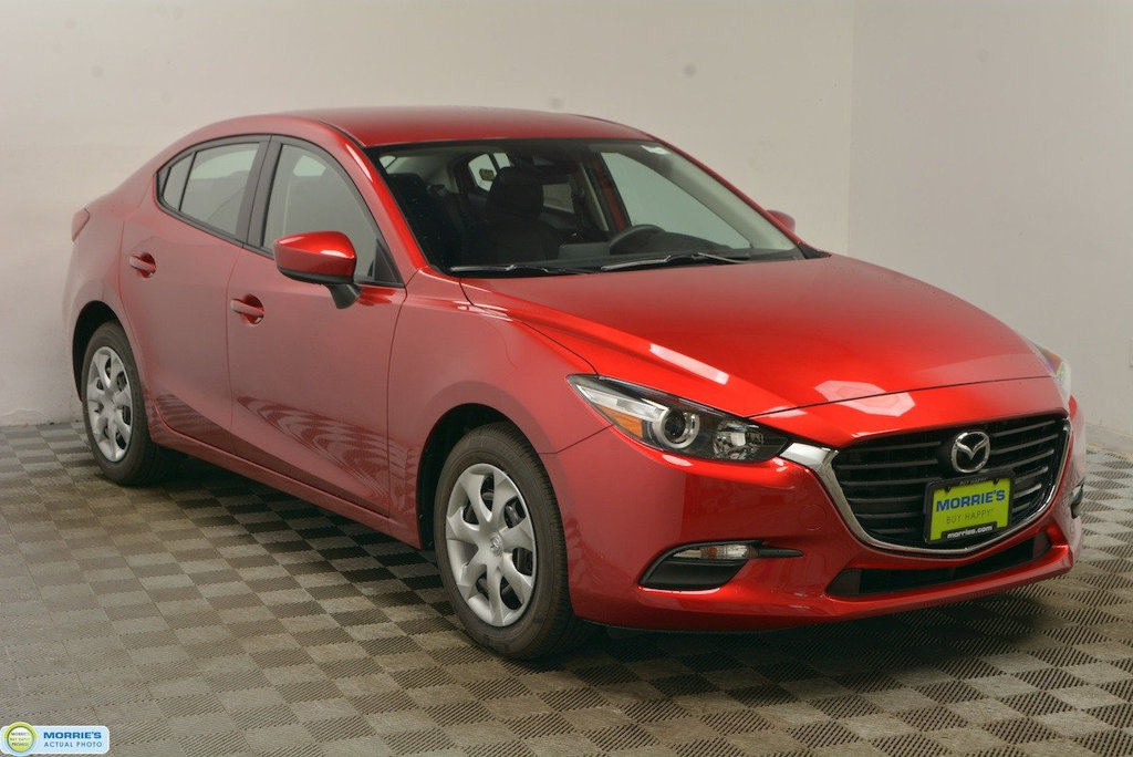 New 2018 Mazda3 4-Door Sport Automatic