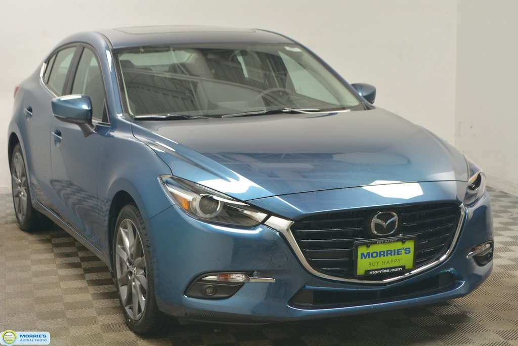 New 2018 Mazda3 4-Door Grand Touring Manual
