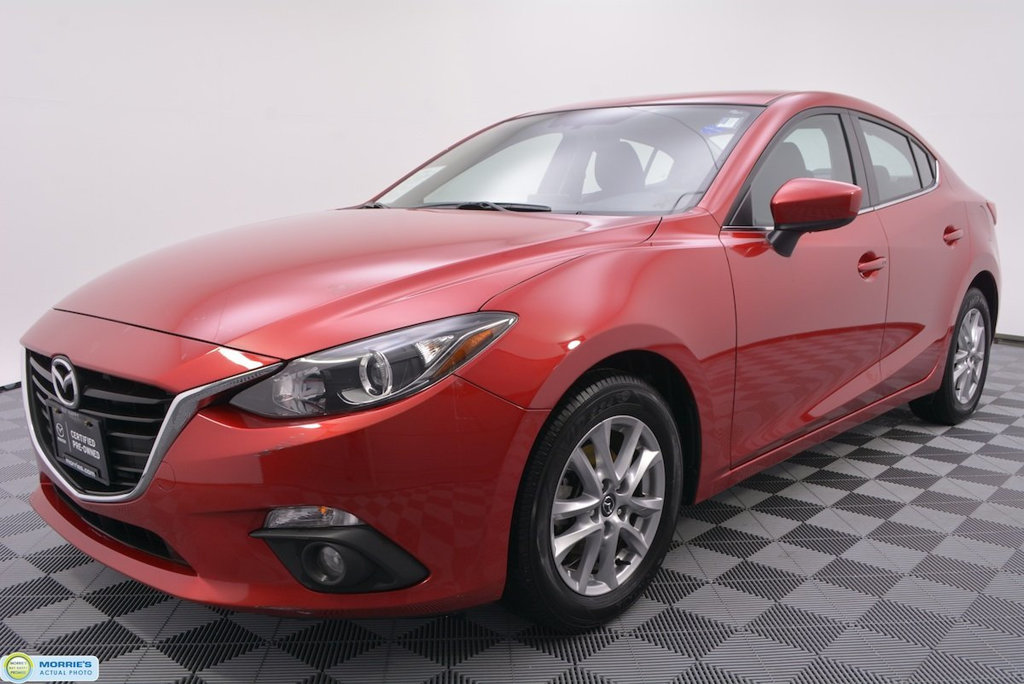 Certified Pre-Owned 2016 Mazda3 4dr Sedan Automatic i Touring