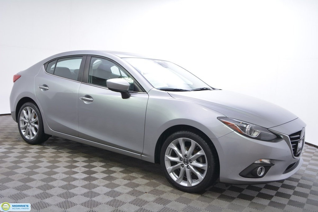 Certified Pre-Owned 2014 Mazda3 4dr Sedan Automatic s Grand Touring