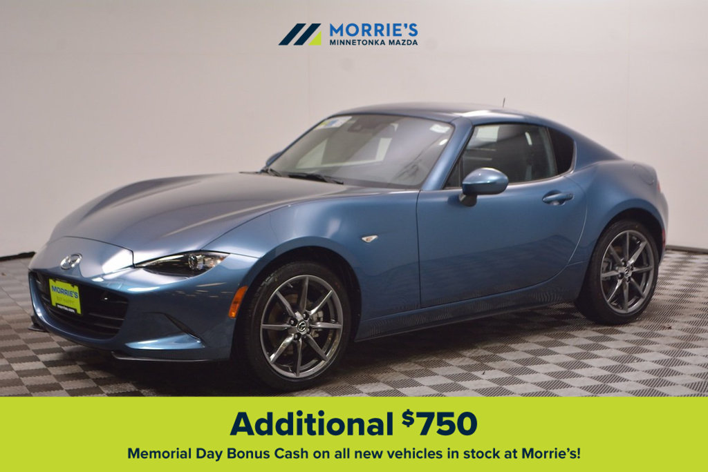 new 2019 mazda mx 5 miata rf grand touring manual coupe in. Black Bedroom Furniture Sets. Home Design Ideas