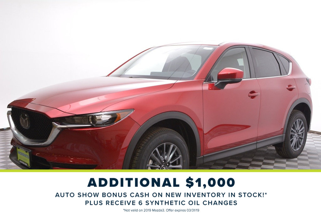 New 2019 Mazda Cx 5 Touring Awd Suv In Minnetonka 2n26740