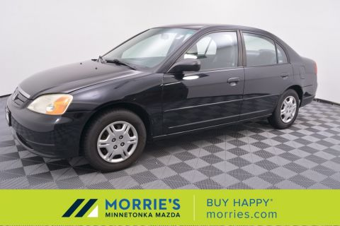 Pre-Owned 2002 Honda Civic LX