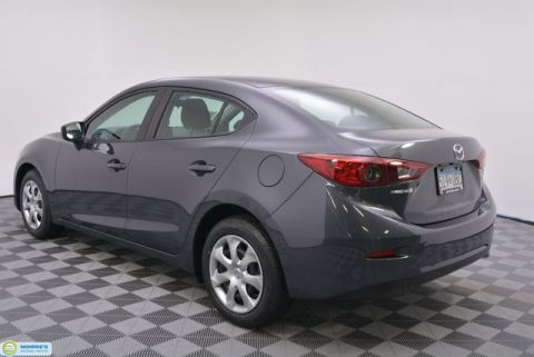 Certified Pre-Owned 2016 Mazda3 4dr Sedan Manual i Sport