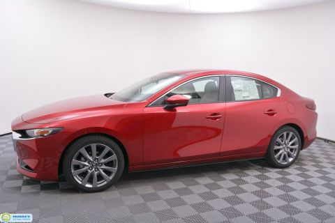New 2019 Mazda3 4-Door FWD w/Select Pkg
