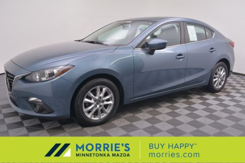 Certified Pre-Owned 2016 Mazda3 i Grand Touring FWD 4D Sedan