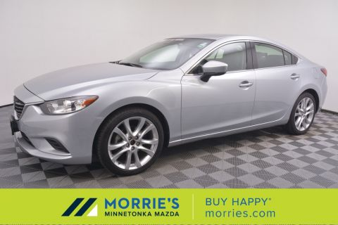 Certified Pre-Owned 2017 Mazda6 Touring FWD 4D Sedan